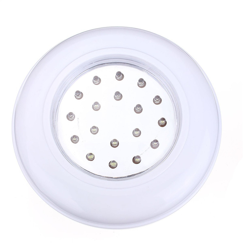 18LEDs Light Wireless Cordless Ceiling Wall Light Stair Closet Battery Operated Bulb Lamp White With Remote Control Switch