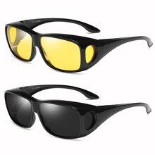 Driving Sunglass for Men/Women UV400 Night Vision Glasses Polarized Fishing Outdoor Sports Sunglasses Eyewear