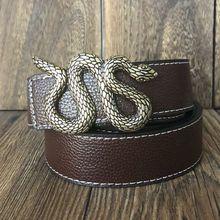 Модные модели змеи, гладкий пояс с пряжкой, широкий пояс, высококачественные мужские дизайнерские ремни для женщин, ковбойские ремни на талии, кофейные джинсы