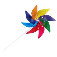 Mooie handgemaakte Windmolen Wind Spinner Ornament Decoratie Kinderen Speelgoed Wind Spinner Tuin Yard Party Camping(China)