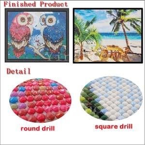 Image 5 - DIY Diamond Painting Allah Muslim Islamic Calligraphy Painting Diamond Embroidery Round/Square Cross Stitch Mosaic Home Decor