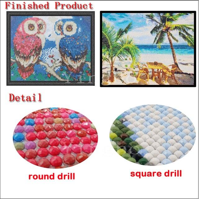 Strass broderie rétro voiture bricolage diamant rond/carré artisanat mosaïque photos 5d point de croix diamant art autocollant mural décor