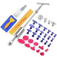 Dent Tools paintless Dent Repair Dent Puller Kit Dent removal Slide Hammer glue sticks Reverse Hammer Glue Tabs Car Hail Damage