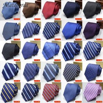 100 Styles Men's Ties Solid Color Striped Flower Floral 8cm Jacquard Necktie Accessories Cravat Party Mens Formal Dress Ties