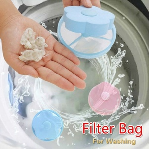 Washing Machine Suction Hair Remover Stick Bag Hair Cleaning Clothes Washing Filter Protection Hair Removal Tool