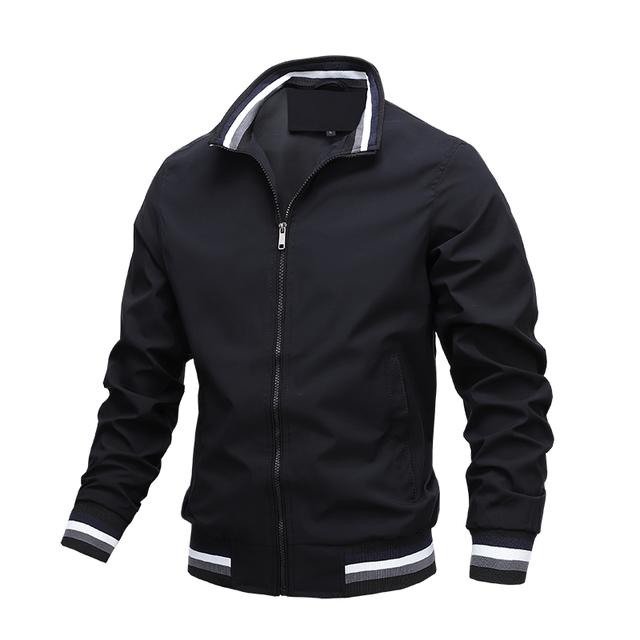 Moda de hombre chaquetas y abrigos chaquetas y cazadoras de los nuevos hombres de chaqueta Bomber cortavientos de Otoño de 2020 hombres del ejército de carga al aire libre ropa Casual Streetwear 4
