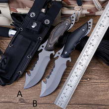 CH Hot!!! Brand Knives Fixed Blade Camping Hunting Knife Survival Knife Fixd Blade Knives with Nylon Sheath все цены