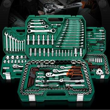 Repair Tools Set Socket Wrench Tools Car Repair Tools With Auto Ratchet Spanner Screwdriver Socket Set Hex Key