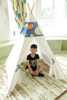 Manufacturers Direct Selling Teepee Tent for Children Play House Oceans Fish Indian Baby Princess Room Customizable