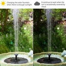 Солнечный Фонтан Водяной насос птица ванна сад украшение двора