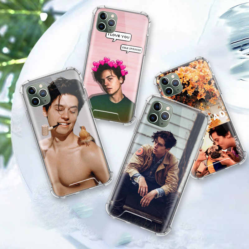 Riverdale Cole Sprouse Case Voor Apple Iphone 11 Pro Max Xs Xr X 8 7 6 6S Plus Clear zachte Airbag Anti Carcasa Telefoon Coque