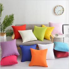 12 Colors Pillow Cover Velvet Cushion Cover For Living Room Sofa 45*45 Kussenhoes Blue Home Decorative Housse De Coussin