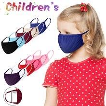 Mascarillas faciales reutilizables para niños, 10 unidades por lote, antipolvo, transpirables, a prueba de viento, máscaras de tejido, niebla, humo, Pm25, mufla Maksa