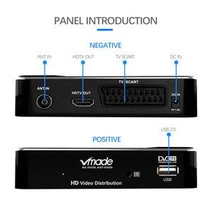 Image 5 - Vmade 2020 Set Top Box DVB T2 Tterrestrial Nhận Full HD 1080P DVB T2 H.265 Giải Mã Hỗ Trợ Xây Dựng WIFI Youtube TV BOX