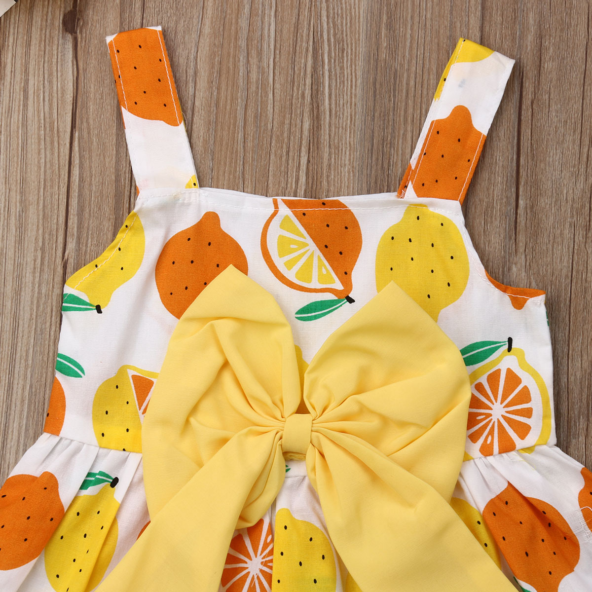 Newborn Baby Girl Bowknot Princess Dress Outfits Sundress Summer Clothes 0-3T