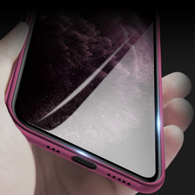 Soft TPU Ultra Thin Micro Matte Phone Back Cover Waterproof Case For iPhone 12 Pro MAx  2