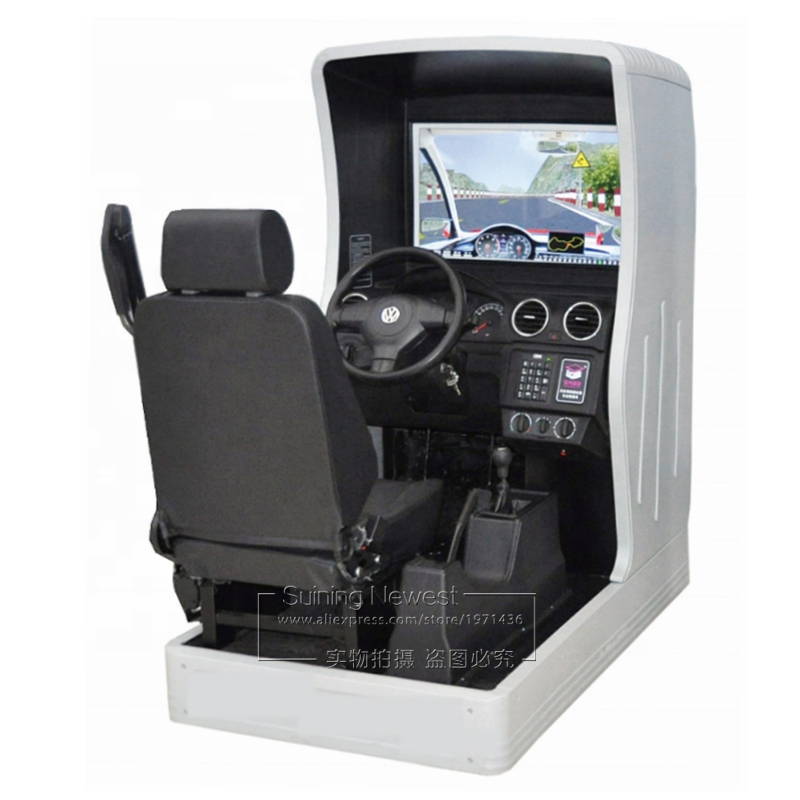 China Factory Price Auto Driving School Learner Practise Driving Video Game Car Driving Training Equipment Simulator Machine image
