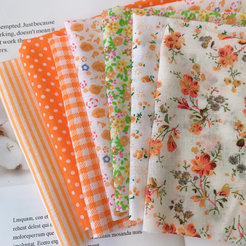 25x25cm  Cotton Fabric Printed Cloth Sewing Quilting Fabrics for Patchwork Needlework DIY Handmade Accessories 4