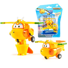 Auldey Super Wings deformation Mini Jett mini robot wing  Action Figures Wing Model toys for kids Christmas Gifts 17 auldey style small super wings deformation mini jett mini robot wing action figures wing transformation toys for kids