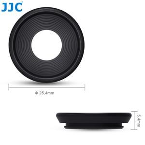 Image 2 - JJC 2 adet Eyecup mercek vizör siperliği Fuji Fujifilm X Pro2 XPro2 göz farı yumuşak silikon kauçuk kamera Eyecup koruyucu