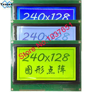 Image 4 - free ship 1pcs 5.1inch 240128  lcd display moudle blue  LCM240128A V3.0 T6963C UCI6963 144*104mm
