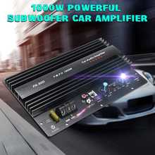 12V 1000W Car Audio Subwoofers Amplifier Board Car Audio Power Amplifier Powerful Bass Subwoofers Audio Amp For Home Car 10 Inch