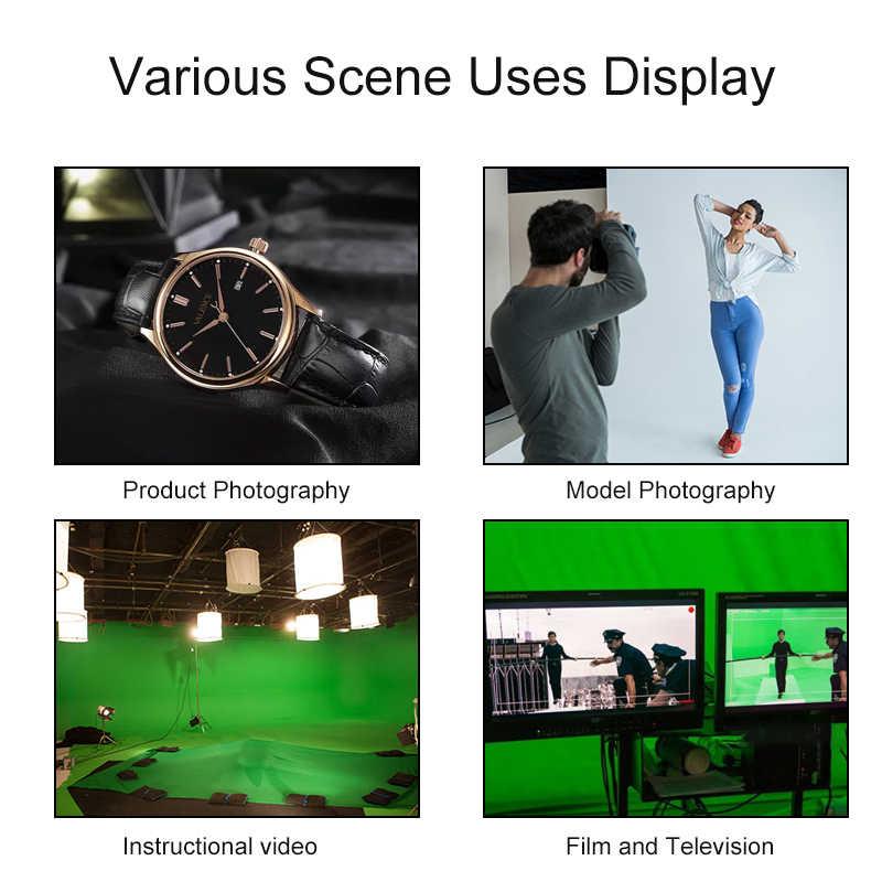 6 색 Photoshoot 배경 헝겊 폴리 에스터 코튼 빨 스튜디오 사진 배경 레드 Bule 그레이 화이트 블랙 그린 스크린