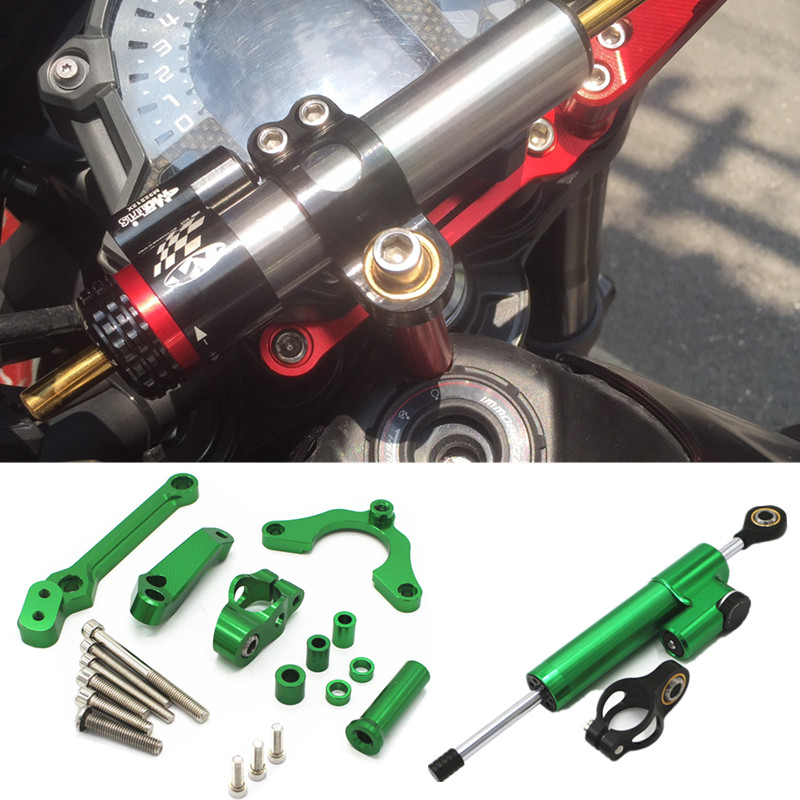Fast Shipping For <font><b>KAWASAKI</b></font> <font><b>Z900</b></font> Z 900 2017-2019 Motorcycle <font><b>accessories</b></font> CNC Steering Damper Mounting Kit Stabilizer Adjustable image