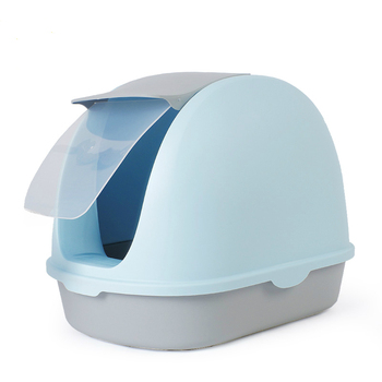 Cat Sand Pot Fully Enclosed Extra Large  Toilet  Dung  Anti-splash    Deodorizing And Stinky  Products
