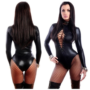 Sexy Latex Catsuit Bodysuits INTIMATES