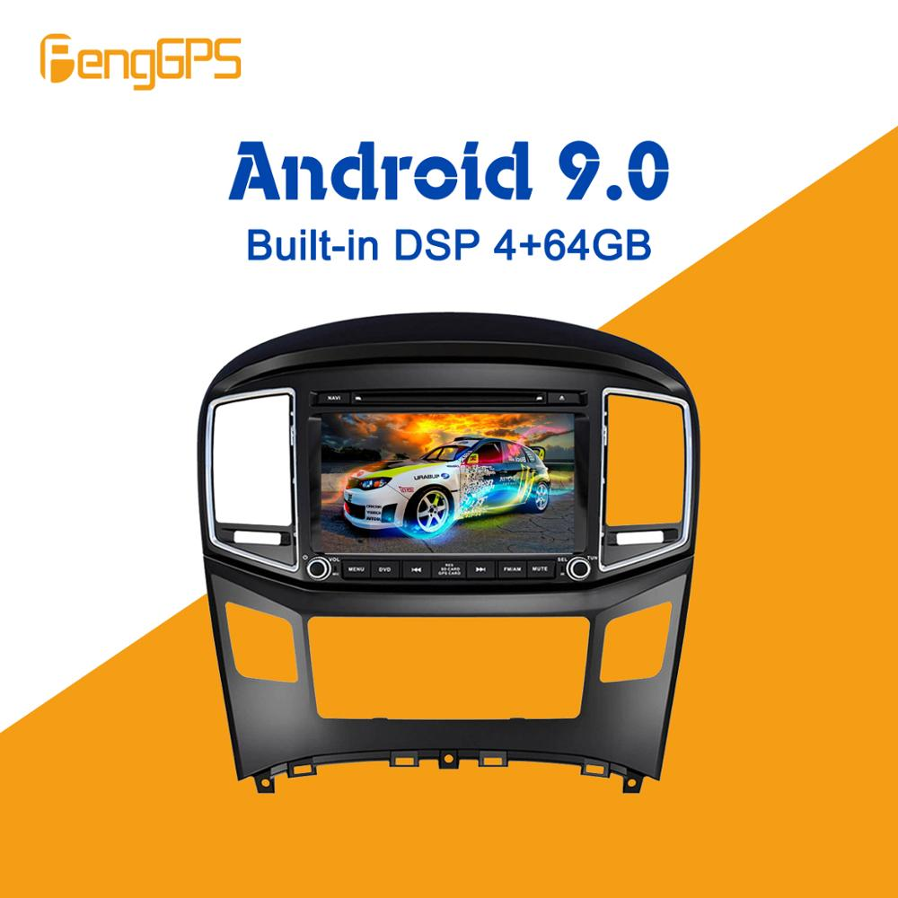 Android 9.0 PX5 4+64GB car DVD player Built in DSP Car multimedia Radio For HYUNDAI H1 Grand Starex 2016+ GPS Navigation Audio Car Multimedia Player     - title=