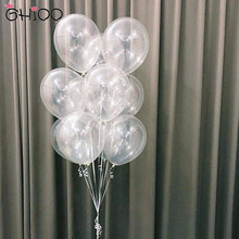 30 pçs/lote 10/12 polegadas Limpar Balões de Látex Balões Transparentes Wedding Party Baby Shower da Festa de Aniversário Decoração de Balões