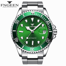 FNGEEN Mechanical Watch Men TOP Brand Automatic Watch Male Clock Auto Date Men's