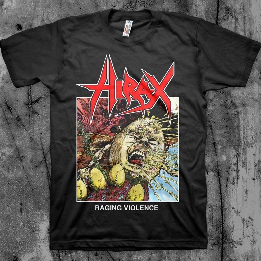 Hirax t camisa thrash banda de metal (1)