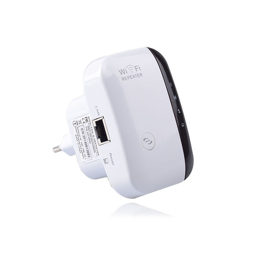 SIPANLISHA Wireless WiFi Repeater Wifi Extender 300Mbps Amplifier 802.11N/B/G Booster Repetidor Wi Fi Reapeter Access Point