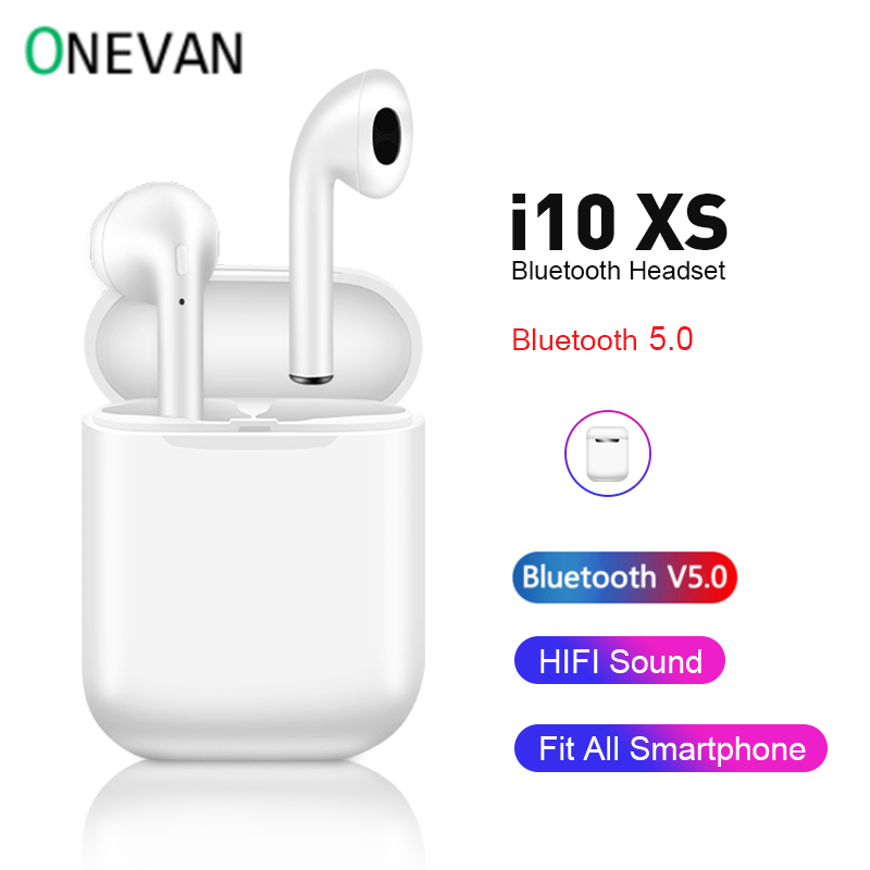 I10 Xs TWS Wireless Earphone I10 Tws Bluetooth 5.0 Headset Auto Pairing Motion Headphones For Android Ios Iphone Xiaomi Redmi