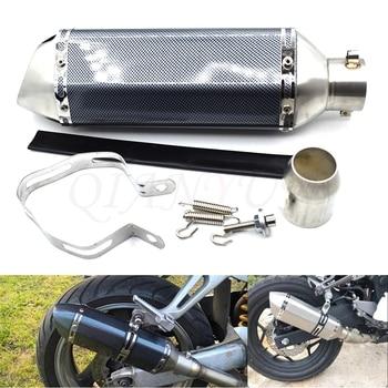 for 38-51mm Motorcycle Exhaust Muffler Pipe Scooter Dirt Pit Bike Tube For KTM Duke 200 390 125 RC125 RC200 RC390 125Duke RC8/R