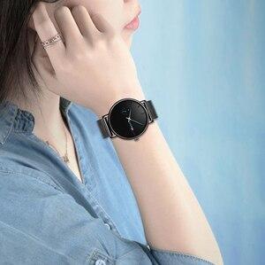 Image 2 - Reloj Mujer LIGE montre daffaires à Quartz pour femmes, marque supérieure de luxe, mode Sport, horloge de Date, étanche, boîte