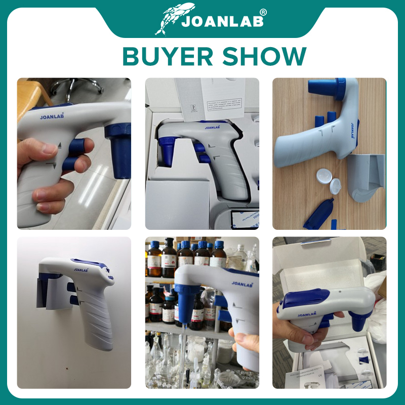 JOANLAB Electric Pipette Controller Large Volume Automatic Pipette Laboratory Equipment Electronic Pipette Pump 110v To 220v 6