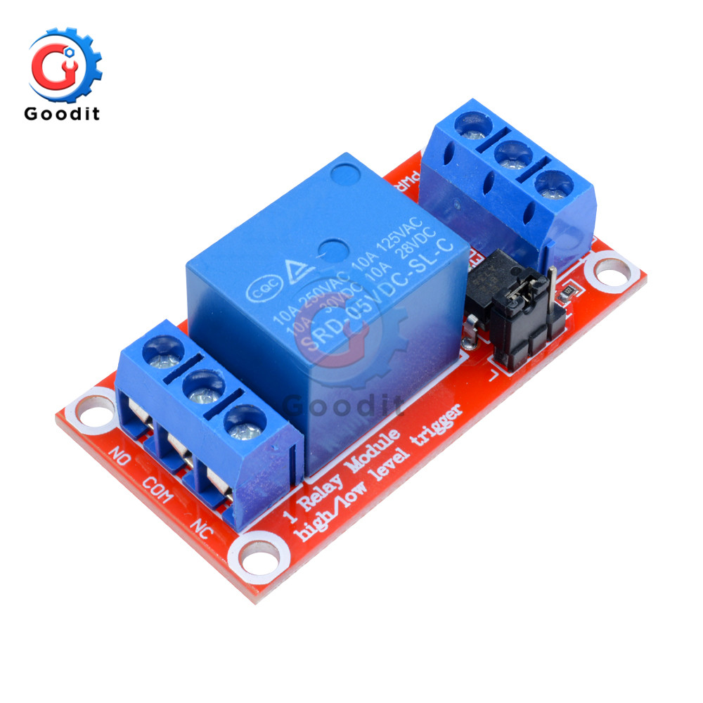 2 Pack 2pcs 1-Channel Power Relay with Optoisolator