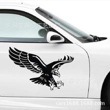 цена на Aliauto Car Stickers  Eagle Totem Automobile Sticker Side Door Stickers Hood Stickers Creative Car Stickers 30x19cm