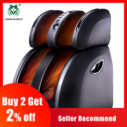 JinKaiRui Elektrische Vibrerende Voet Massage Infrarood Verwarming Knie Been Kalf Dij Massage Apparaat Luchtdruk Massagem Pijnbestrijding