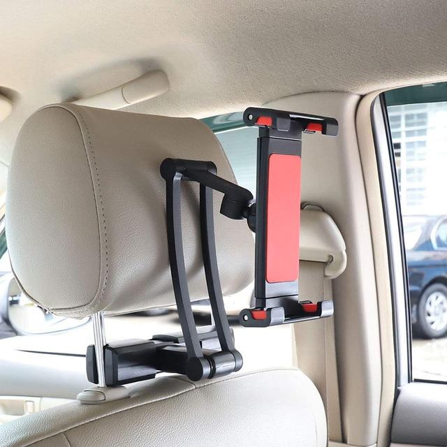 Uchwyt samochodowy do tabletu stojak samochodowy tylna poduszka do ipada 2 3 4 Air 7-11 uniwersalny 360 uchwyt obrotowy tylne siedzenie uchwyt samochodowy Handrest PC