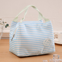 Lunch Box Portable  Canvas Bag for Thermal Food