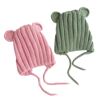 Baby's Winter Hat with Ears 5