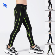 Leggings Stretch-Compression Training-Pants Soccer Sports-Trousers Base-Layer Boys Breathable