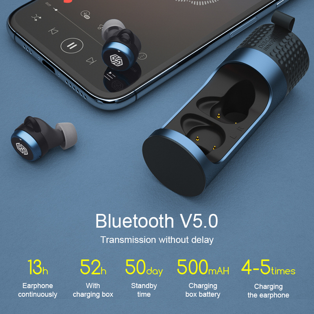 NILLKIN Bluetooth Kopfhörer IPX5 17
