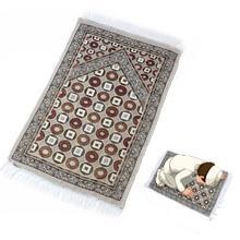 Tapis de prière, décoratif, motif aléatoire, Floral, pour laïd du Ramadan, garniture de gland, 1/2/3/4/5 pièces