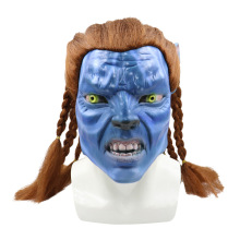 цена на Halloween Elf Cos Props Avatar Mask Elf Ear Elf Monster Mask Latex Headset Toy Unisex Horror