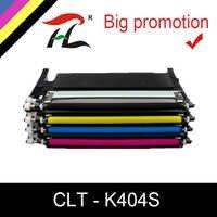 YLC cartouche de toner CLT-K404S M404S C404S CLT-Y404S 404S compatible pour Samsung C430W C433W C480 C480FN C480FW C480W imprimante